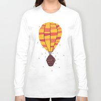 yetiland Long Sleeve T-shirts featuring dangerous living by Yetiland