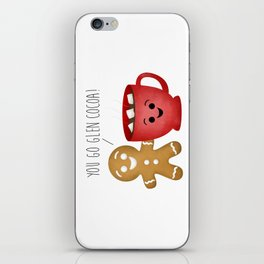 You Go Glen Cocoa! iPhone Skin