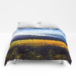 Giallo Sweep Comforters