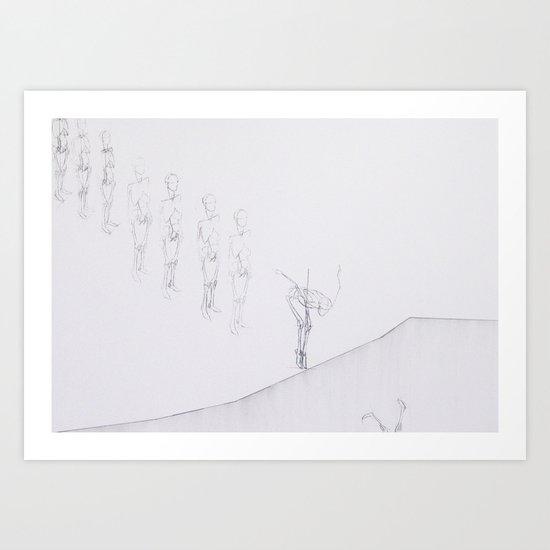 Whiteout I Art Print