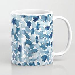 Blue Abstract Watercolor Coffee Mug