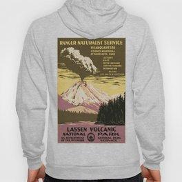 Vintage poster - Lassen Volcanic National Park Hoody