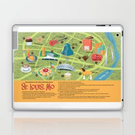 Square Map of St. Louis Laptop & iPad Skin