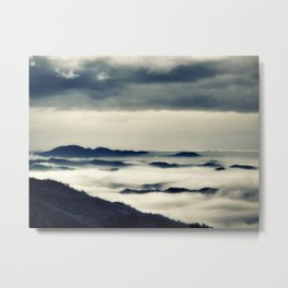 Cloudscape Metal Print