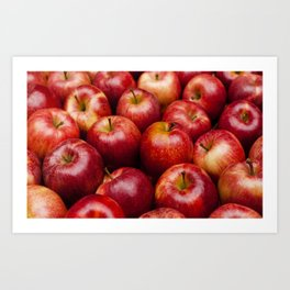 food apple Art Print