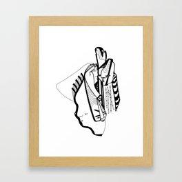 one during Framed Art Print