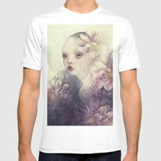 Remiss White Mens Fitted Tee MEDIUM