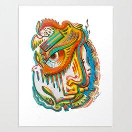 Gentle Giant Art Print