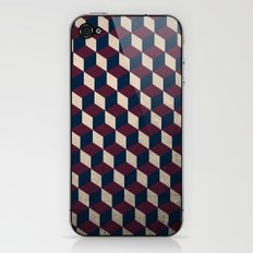 pop cube iPhone & iPod Skin