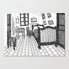 Van Gogh - The bedroom Canvas Print