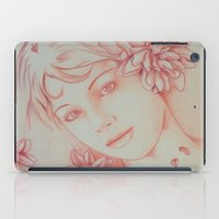 leah flores iPad Cases featuring Flores. by marmaseo