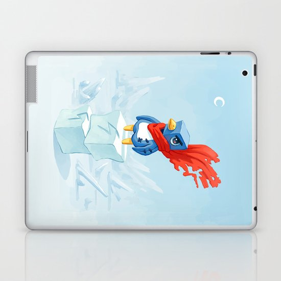 Super Penguin Laptop & iPad Skin