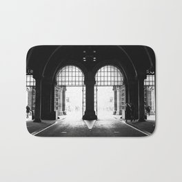 Amsterdam streets - Rijksmuseum Bath Mat