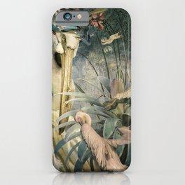 The Loving Pelican iPhone Case