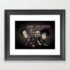 The Smiths (black version) Framed Art Print
