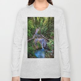 Valley of 33 waterfalls Long Sleeve T-shirt