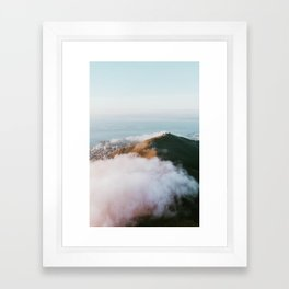 Magestic Cape Town Framed Art Print