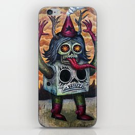 The Blood of Cain iPhone Skin