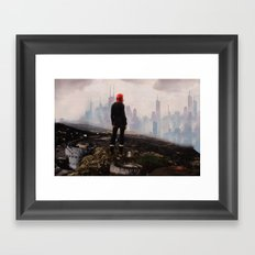 Urban Human Framed Art Print