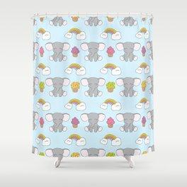 Cute elephants Shower Curtain
