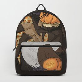 Pumpkin Witch Backpack