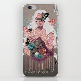 Zebra Tales iPhone Skin