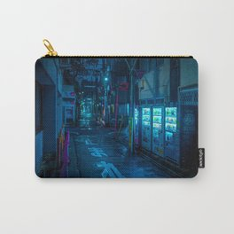 Midnight in Tokyo Light up by Vending Machine Carry-All Pouch