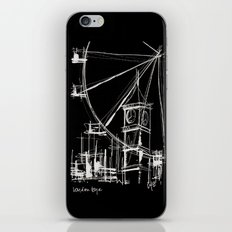 Black London iPhone & iPod Skin
