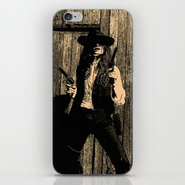 The Wildest Cat in The Crazy West iPhone Skin
