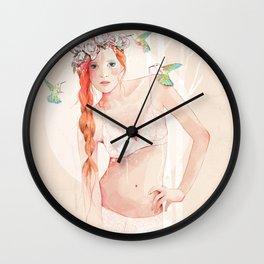Colibrí Wall Clock