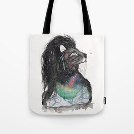 Realis the Aurora Lion. Tote Bag