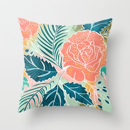 Framed Nature Throw Pillow