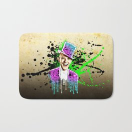 Fred Astaire, new steps.  Bath Mat