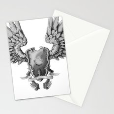 FF14 - Chocobo / materia coat of arms Stationery Cards