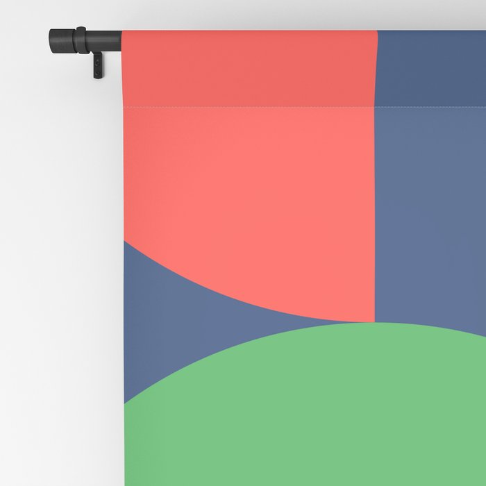 Abstract Geometric 16 Blackout Curtain