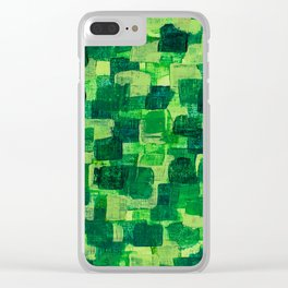 Jade Scales Clear iPhone Case