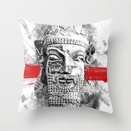 Dariush the King Throw Pillow