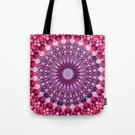 Pink and violet mandala Tote Bag