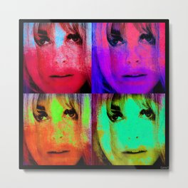 Sharon Tate Metal Print