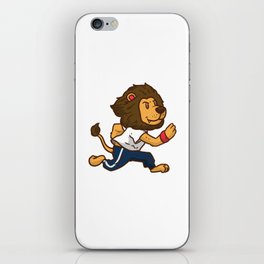 Fitness Lion iPhone Skin