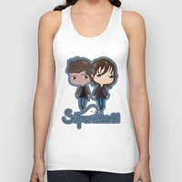 supernatural Tank Tops featuring Supernatural by Alex Mathews