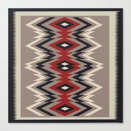 American Native Pattern No. 162 Canvas Print