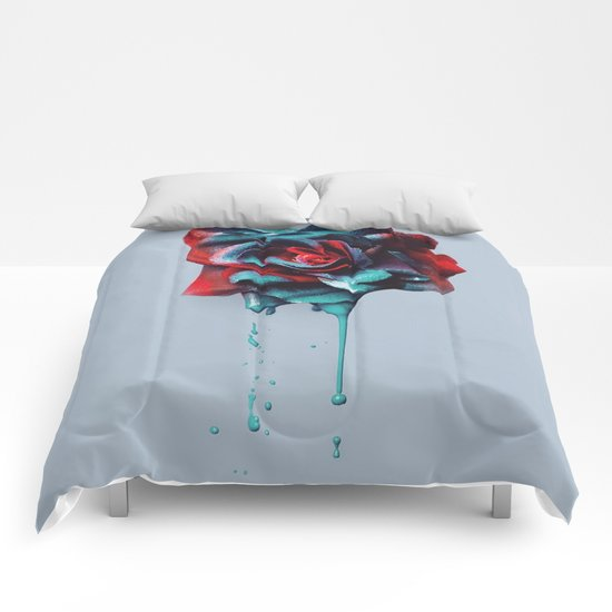 Dripping Love Comforters