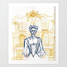Marie Antoinette as Misunderstood Heroine Art Print