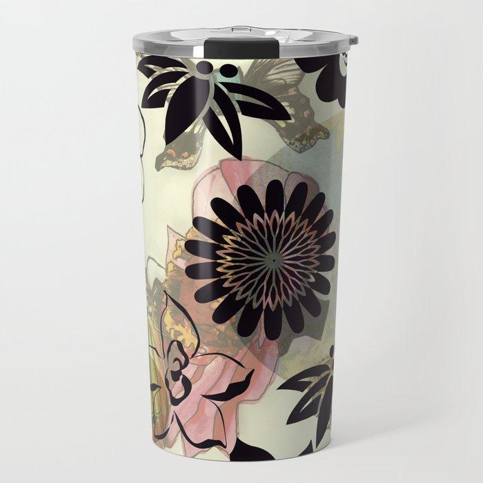 Muster/Blume/Tiere/brittmarks Travel Mug