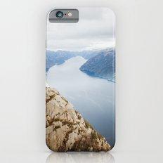 Lysefjord, Norway in Winter Slim Case iPhone 6s