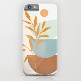 Soft Abstract Shapes 02 iPhone Case