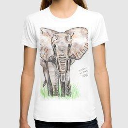 Inktober #3 2017 - Elephant T-shirt