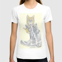 mew T-shirts featuring Mew by Connie Campbell