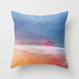 Her Heart was as Wild as a Stormy Sea Throw Pillow